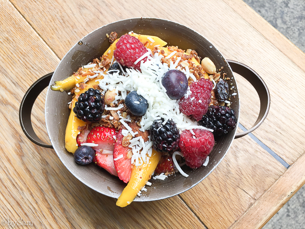 Mexico City tips vacation acai bowl