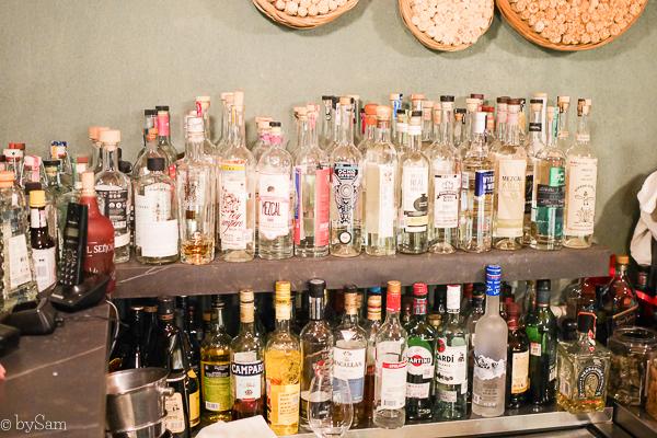Mezcal cocktail bar Mexico