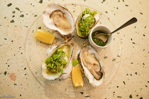 Restaurant ZUID Amsterdam oesters bar