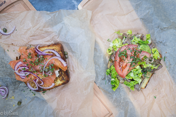 Libertine Amsterdam Centrum sandwich