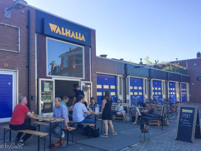 Walhalla brouwerij en bierproeflokaal Amsterdam Noord