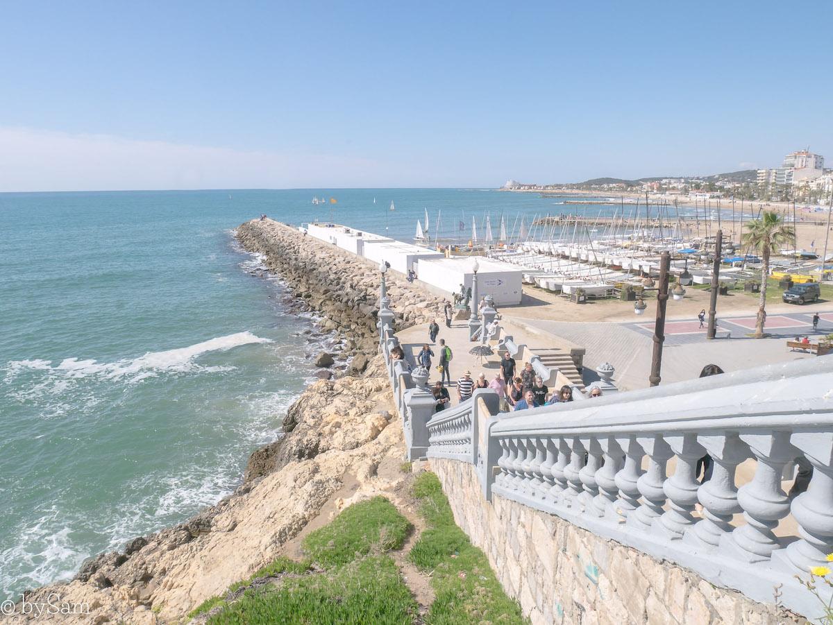 Sitges Spanje strand
