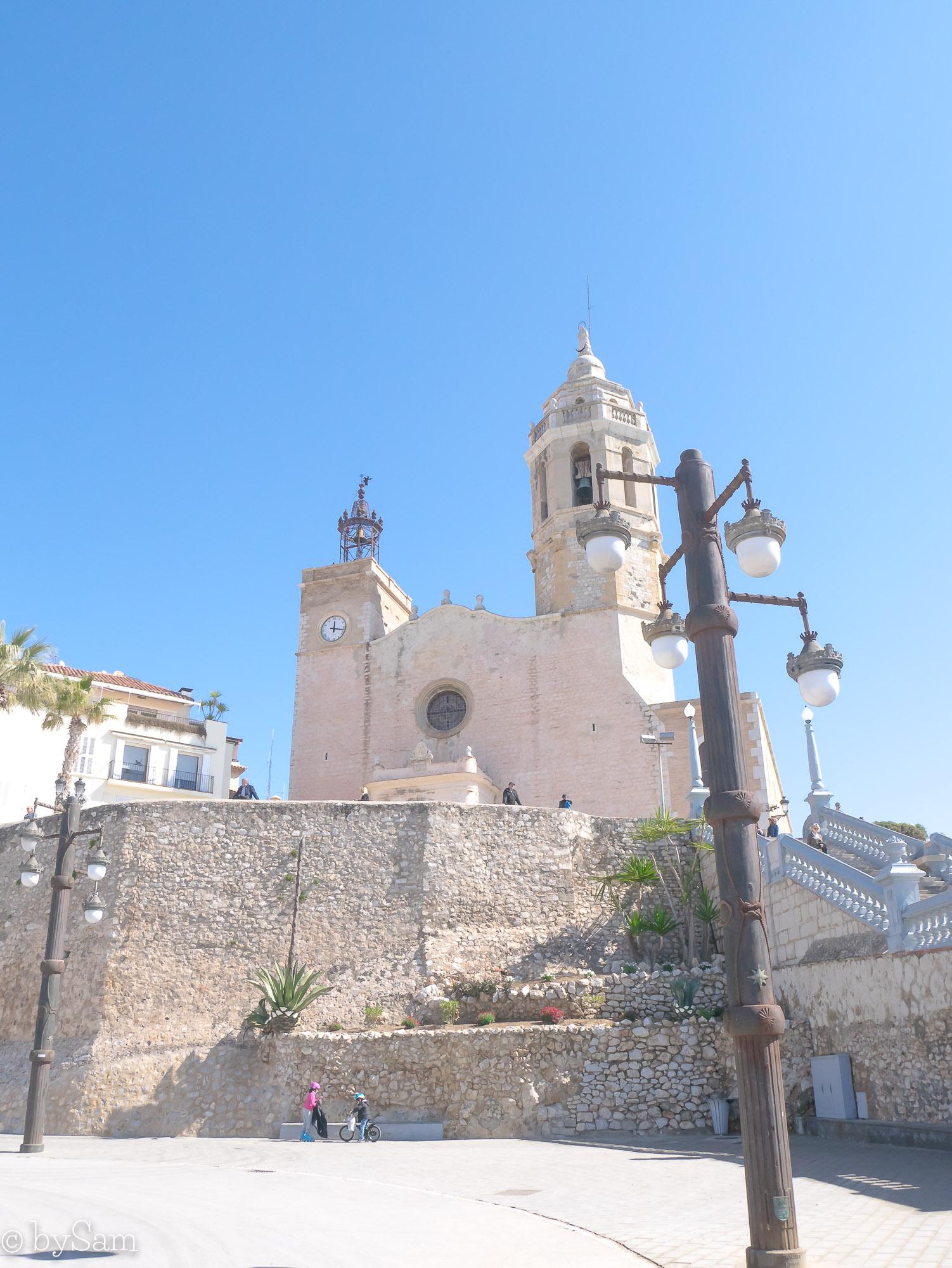 Sitges Spaanse badplaats