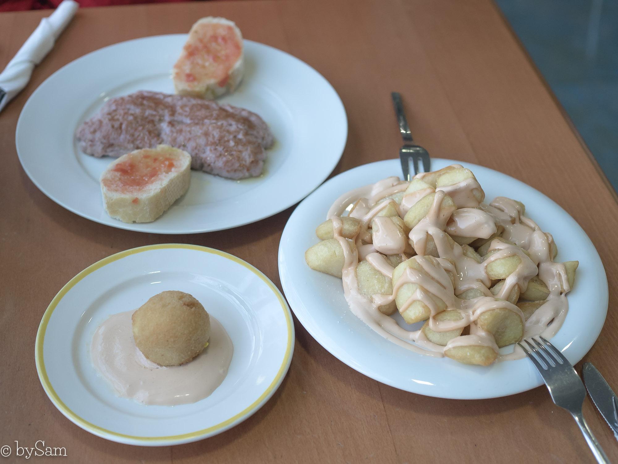 Vakantie Spanje lekker eten