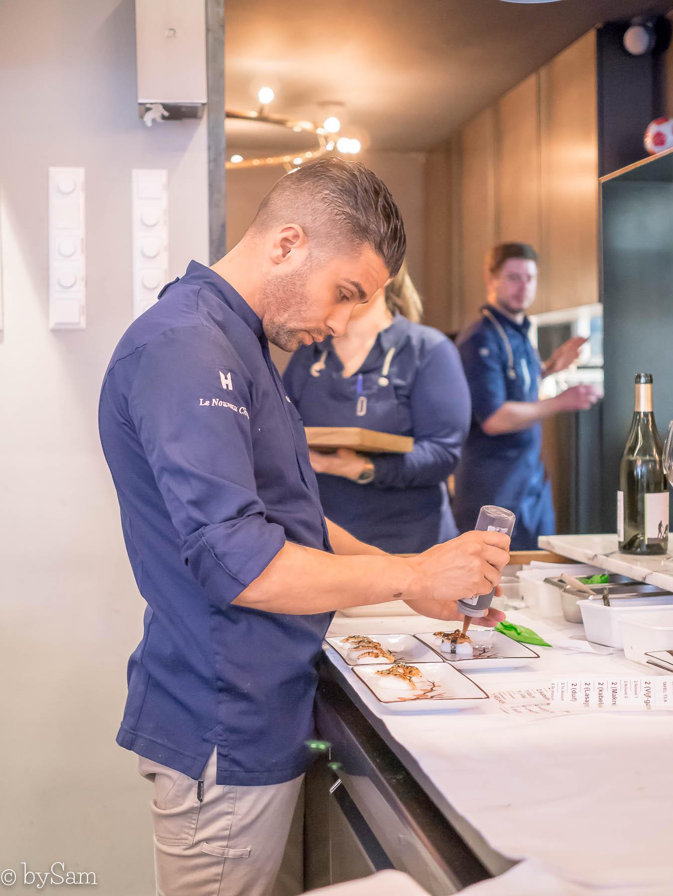 Chef's Table Dennis Huwae Daalder Amsterdam