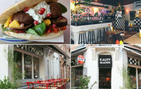Falafel en bierparadijs Bar Kauffmann Oost is eindelijk open
