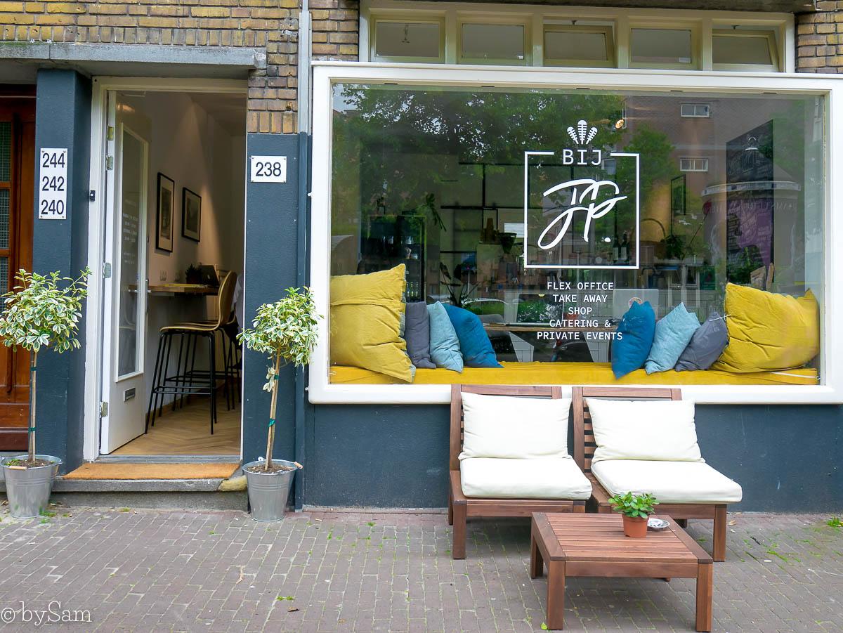 BIJ JP Amsterdam Westerpark werkplek