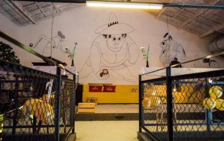 Dit weekend opent de allereerste jeu de boules foodhal van Nederland in Oost