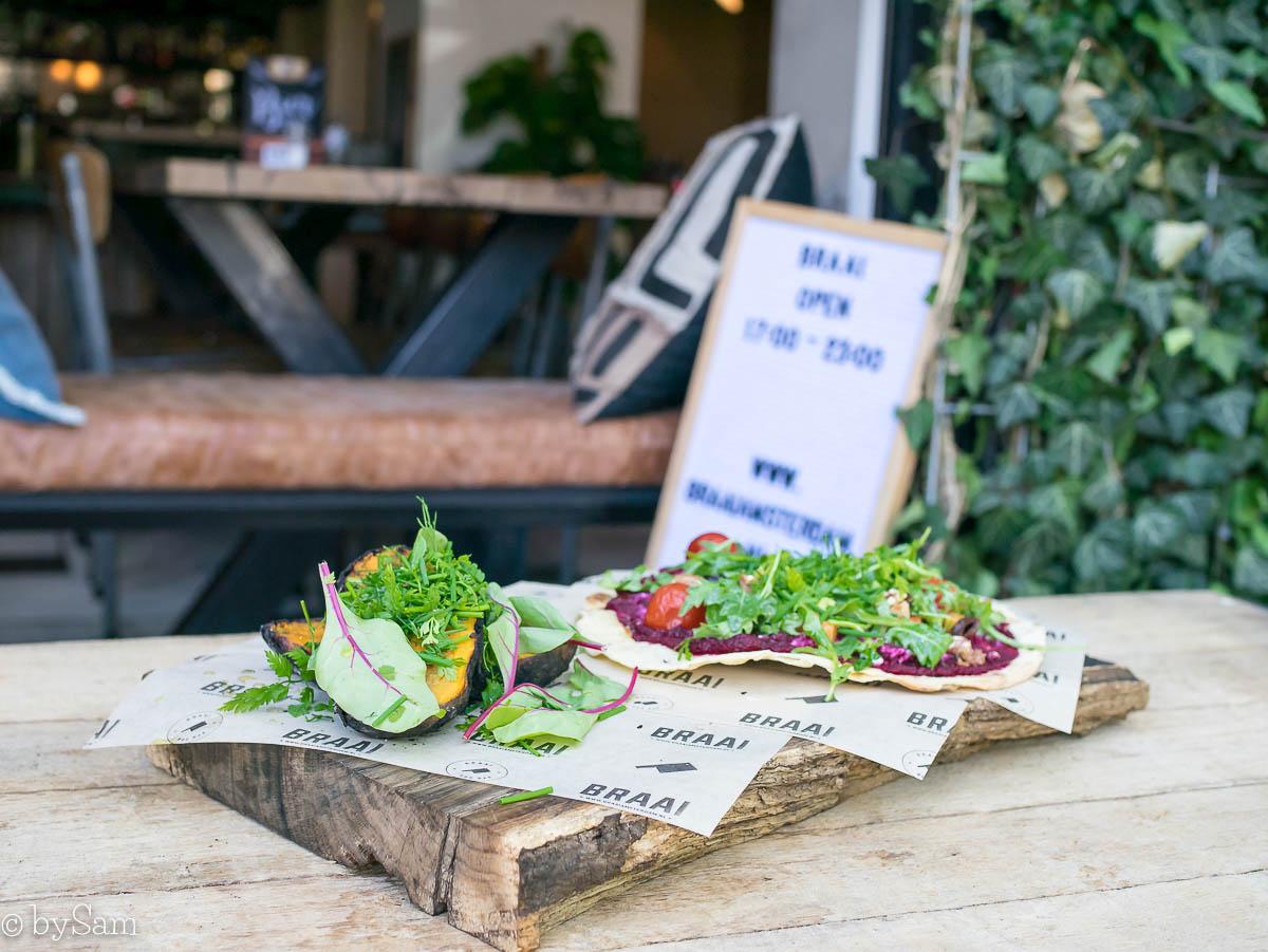 Braai Amsterdam vegetarische gerechten