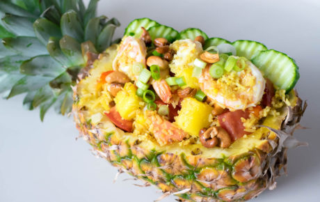 Tropisch Thais recept voor pineapple fried rice