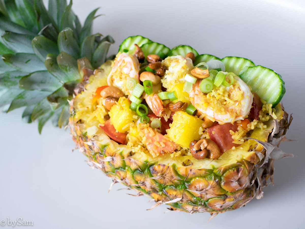 Recept ananas nasi pineapple fried rice