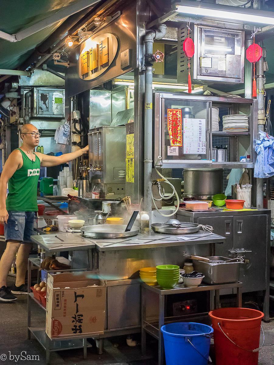 Streetfood Stanley street Hong Kong