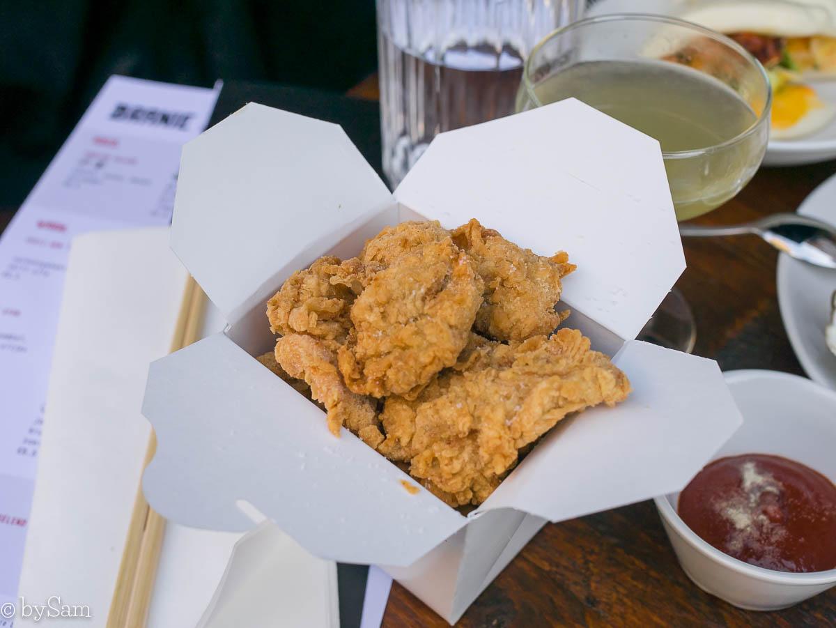 Branie Amsterdam KFC oesterzwammen