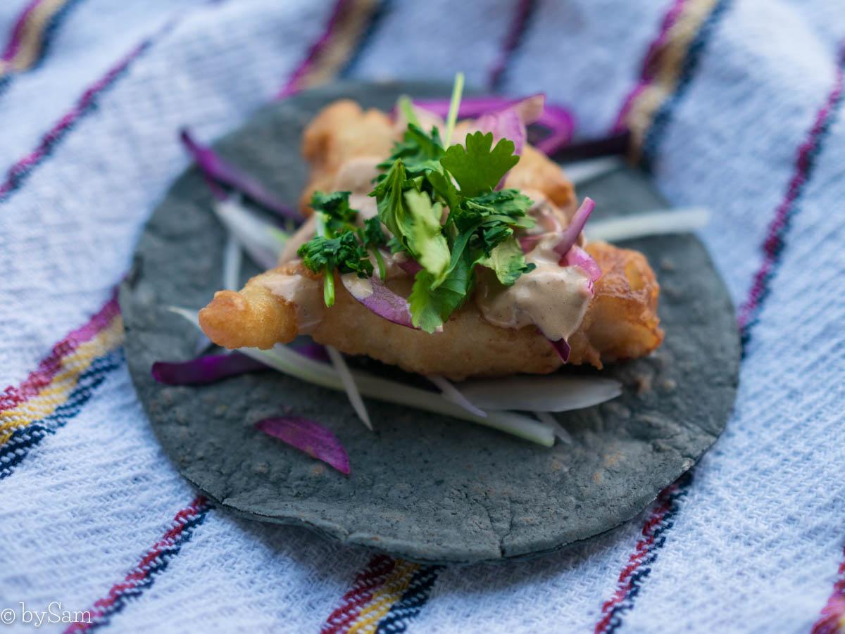 Recept vis taco Mexicaans