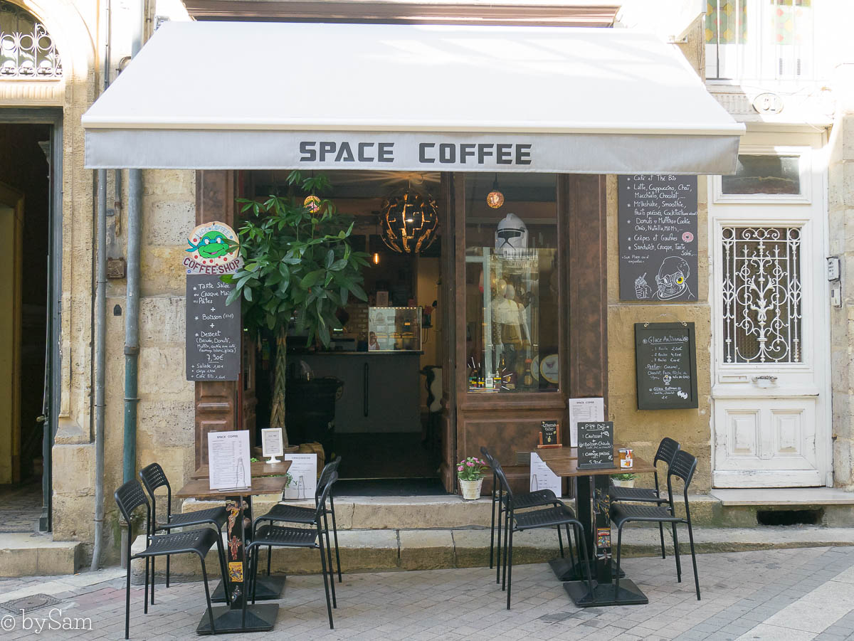 Space Coffee Bordeaux Frankrijk