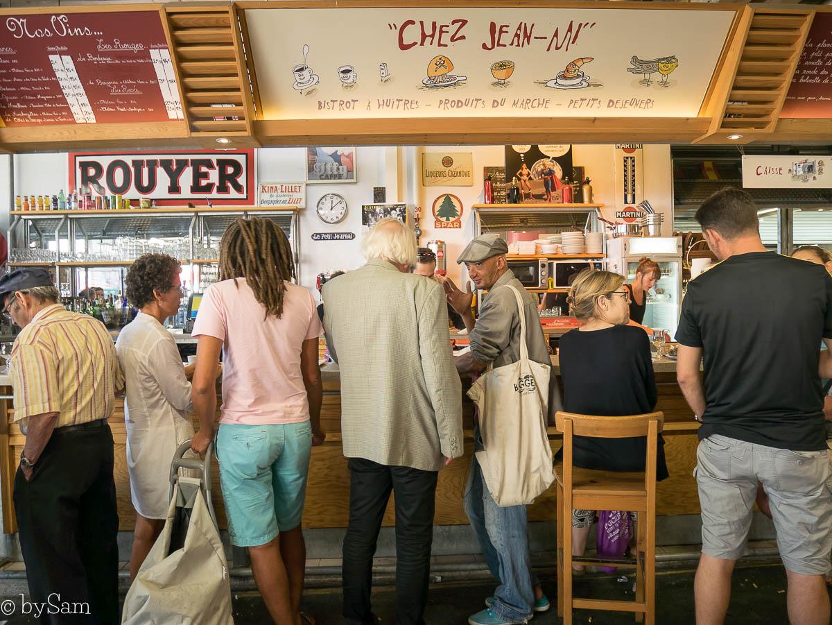 Bordeaux vakantie Frankrijk markt