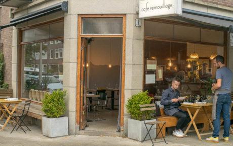 Bij Café Remouillage schuif je aan voor een avondje casual faan dining