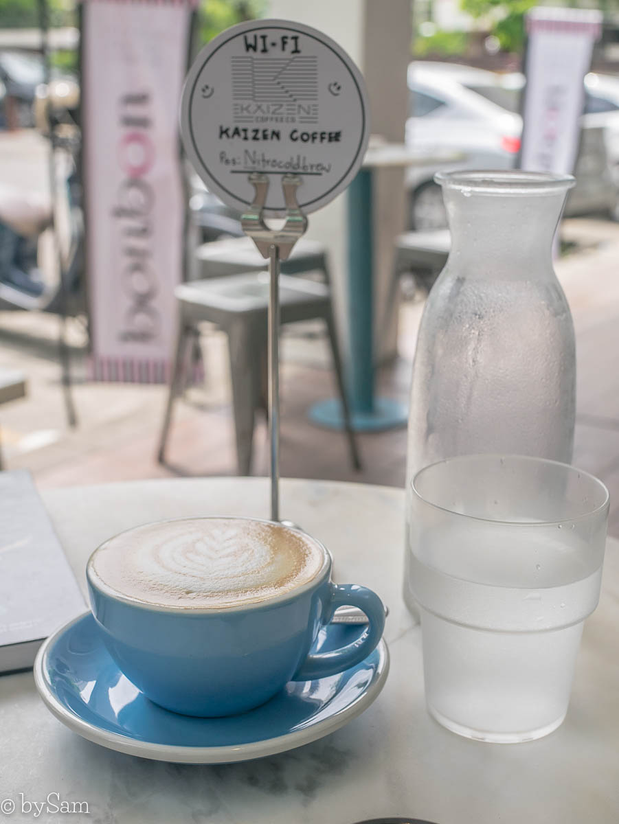 Kaizen Coffee Bangkok koffie