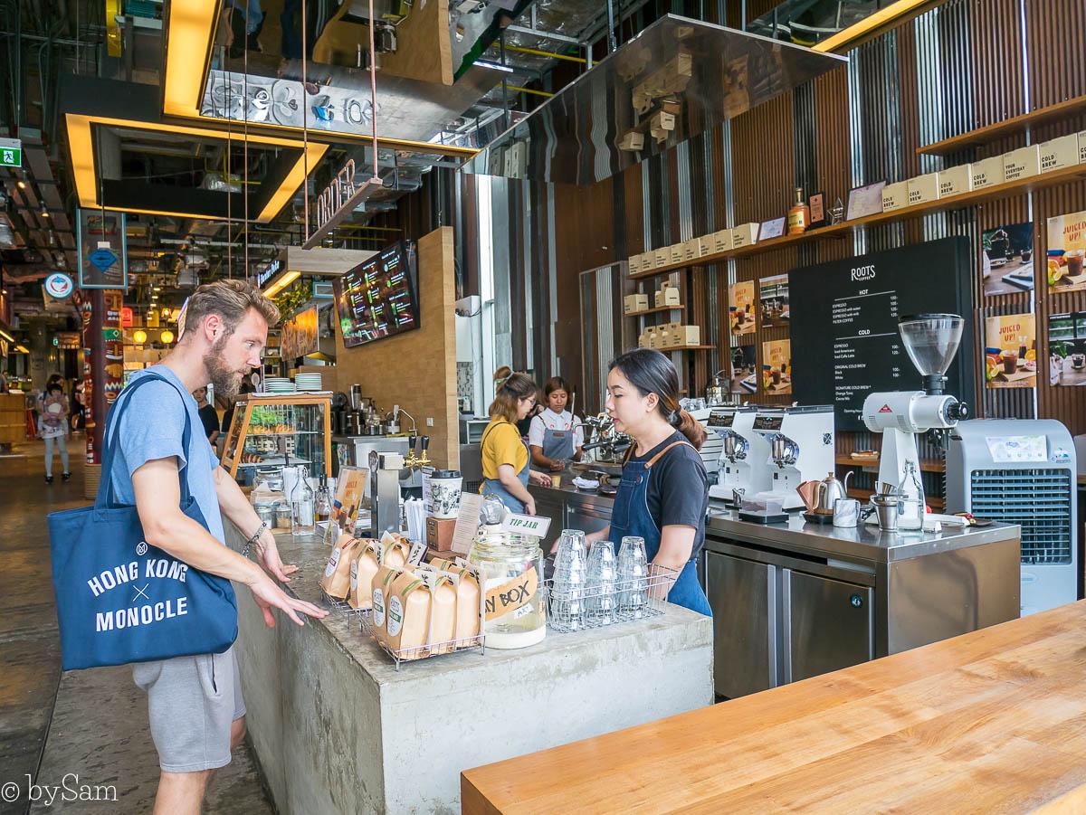 Roots Coffee Bar Bangkok