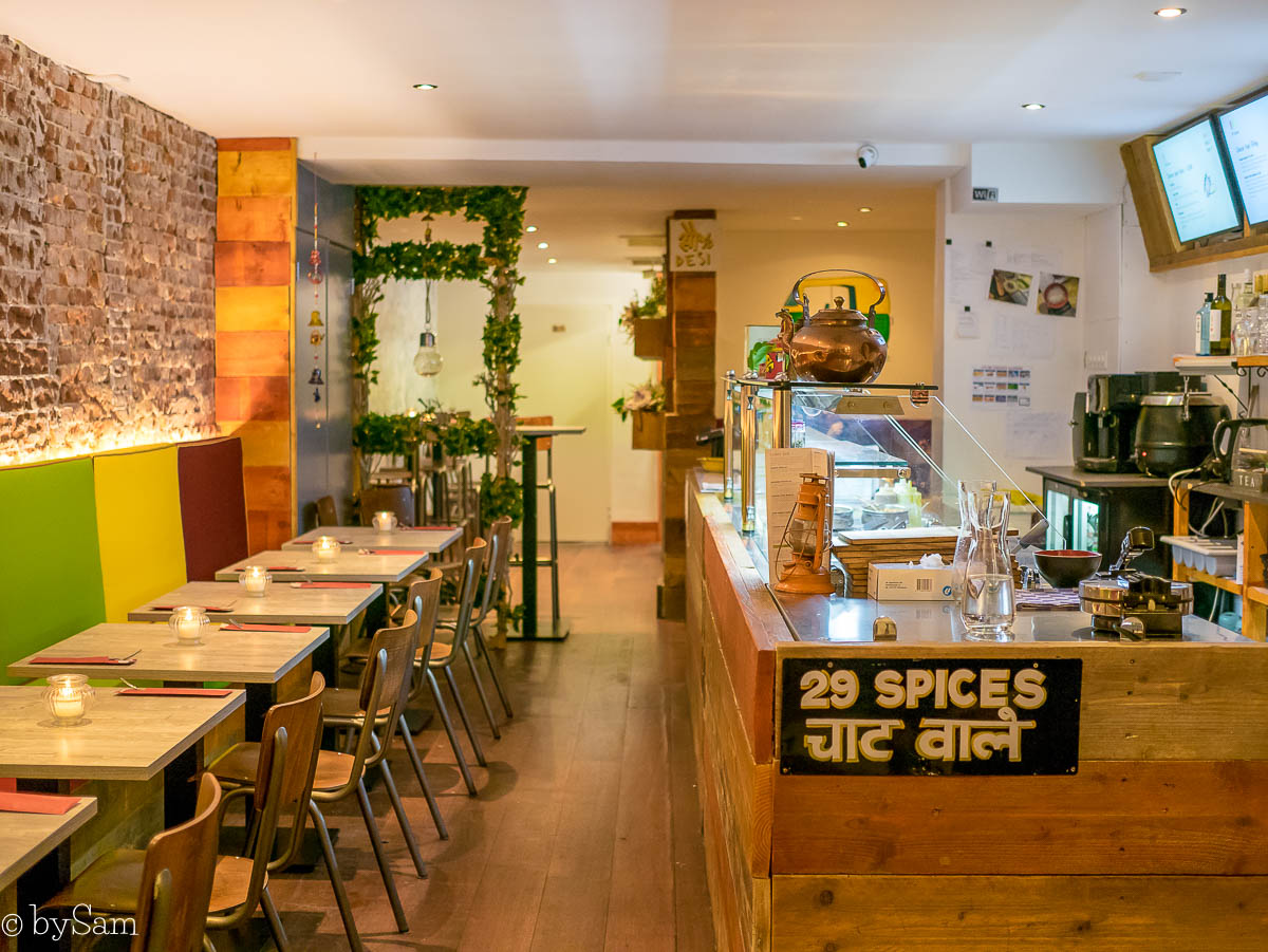 29 Spices nieuw Indiaas streetfood restaurant